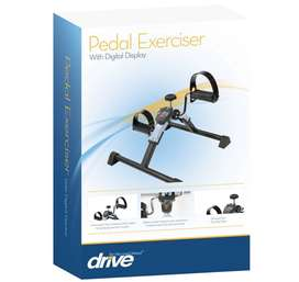 Pedal Exerciser with Digital Display by Drive Medical. On Sale.