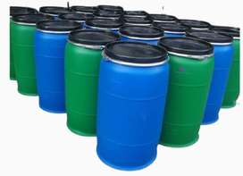 220L Open Top plastic drums Brand New