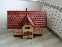 Domek drewniany, rękodzieło - Kufer