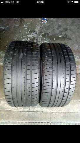 Two 275/30/20 for BMW 6 series Dunlop
