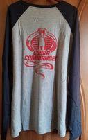 Мужская футболка thinkgeek с длинным рукавом Cobra Commander