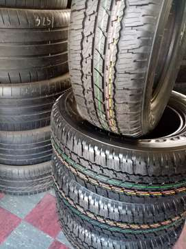 265/65/17 Bridgestone dueller AT tyres