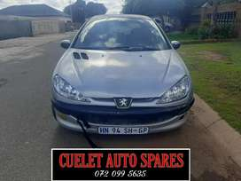 PEUGEOT 206 STRIPPING