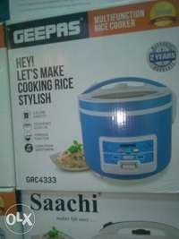Geepas rice cooker 0