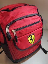 Plecak FERRARI czerwony+ Darmowa dostawa!