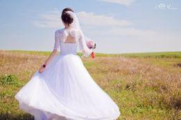 Прокат 800 , Продам шикарное Свадебное платье, весільна сукня