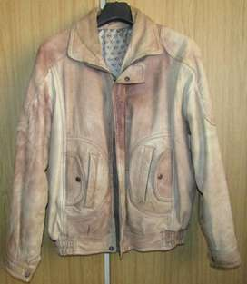 Leather Jacked - a real imported stunner - M
