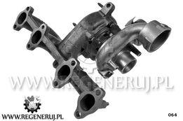 Turbosprężarka Seat Alhambra Cordoba 1.9 TDI 131 150KM ASZ BTB BLT