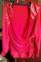 Очень красивая нарядная блузка большого размера