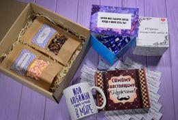 Подарочный набор Чашка 100 причин почему я тебя люблю Сладости Шоколад