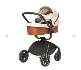3 in 1 Leather & Suede Bounce Baby System
