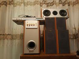 Продам комплект DVD и акустичесеую систему