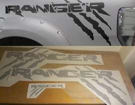 Ranger claw scratch side decals stickers vinyl cut graphics