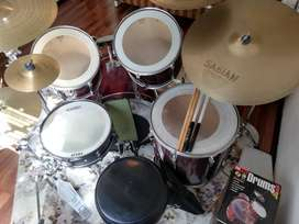 Tama Rockstar Drum Kit for Sale