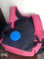 Квази школьный красный портфель