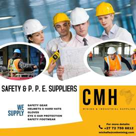 Safety clothing, shoes , equipment
