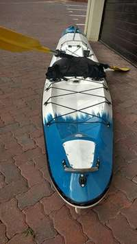 Kayak and Paddle (Like New), used for sale  South Africa