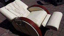 Fotel z masażem-zamiana