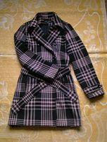 Продам Пальто.Пальто в клетку.Пальто черное.Пальто розовое.