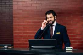 MALE RECEPTIONIST NEEDED TO WORK NIGHT SHIFT IN NORTHERN SUBURBS.