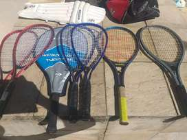 Squash and tennis rackets for sale