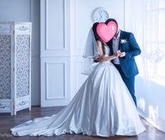 Продам свадебное платье размер с-м
