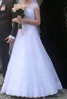 Suknia ślubna Princessa roz. 34/36 + gratis