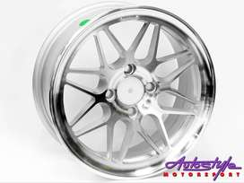 14 inch CL 46 4 hole Silver Alloy Wheels also suitable VW  Golf 1-2-3