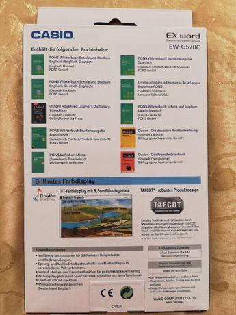Новий електронний словник Casio EX-word EW-570 C Тернополь - изображение 2