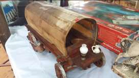 LOVELY OLD WOODEN WAGON