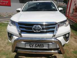2018 TOYOTA fortuner 2.4 gd6 auto