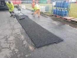 Łatanie dziur, remont asfalt, odtworzenie nawierzchni asfalt