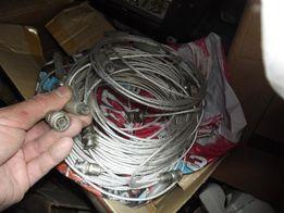 Кабели радиоизмерительные - телевизионный разъём/байонет.