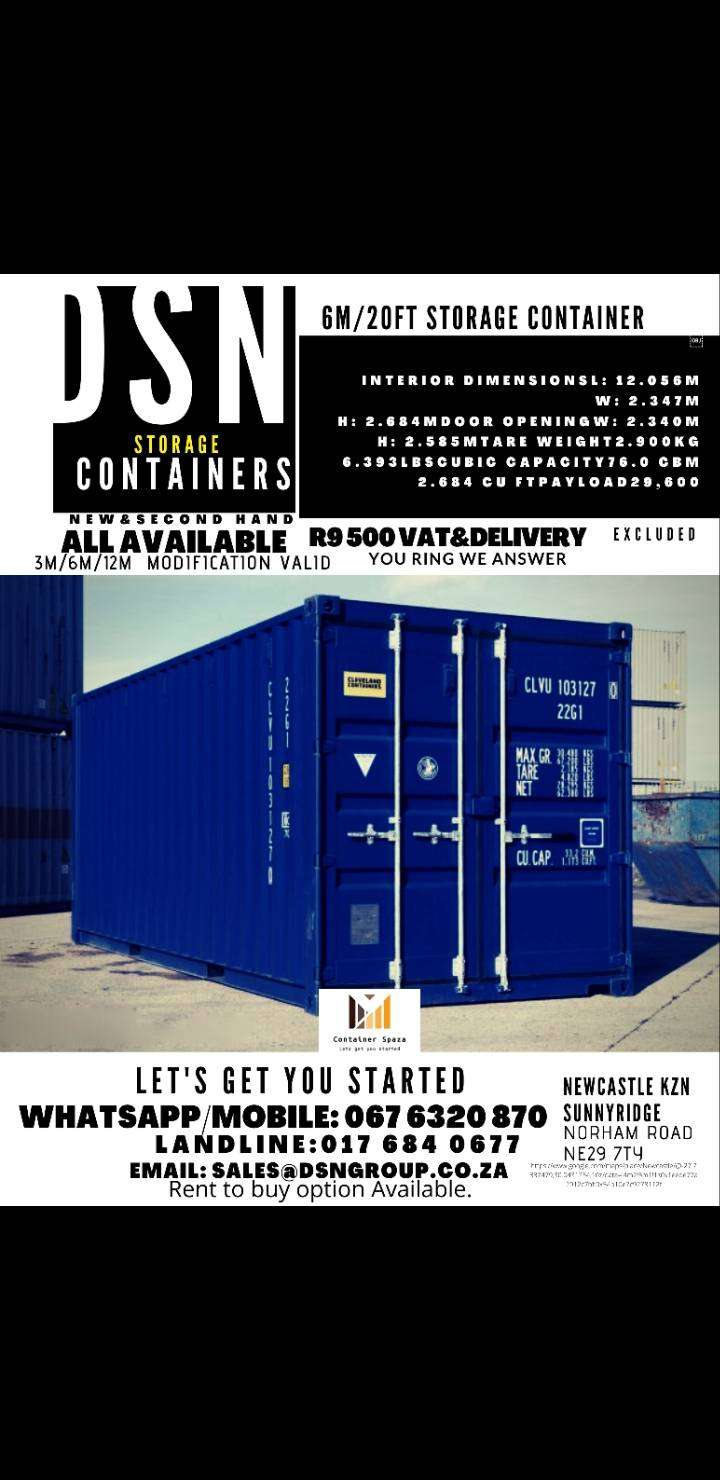 STORAGE CONTAINER ON SALE:
