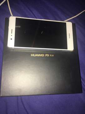 White HUAWEI P9 lite its one year old