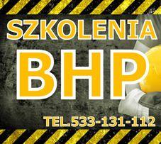 Szkolenia BHP Tuszyn - dojeżdżamy do klienta
