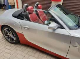 Z4 M Red leather seats, lots of power,
