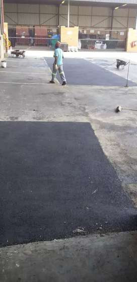 Tar surfaces and all types of courts