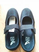 Новые спортивные туфли на липучке F&F active 5UK на ножку 23.7-24 см