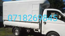 Truck with canopy 2.7ton for hire