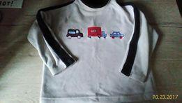 NEXT Bluzka polarowa chłopiec 4 lata samochody
