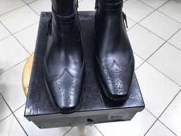 Срочно! Продам демисезонные мужские ботинки Belmondo