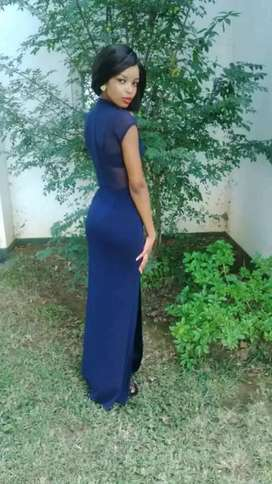 Dark blue YDE dress... (small) for sale