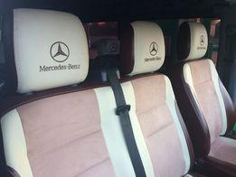 Обшивка салона Mercedes Sprinter Vito Viano перетяжка переоборудование
