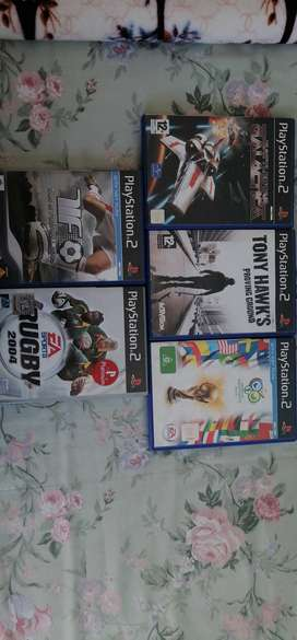 Playstation2 games and accessories