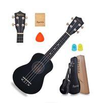 Укулеле Сопрано (гавайська гітара) APELILA (Чохол+Струни+Медіатор)