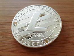 Сувенирная монета Лайткоин (Litecoin), скидка 10%