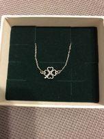 Yes nowa bransoletka koniczynka srebrna 925 srebro Apart kruk biżuteri