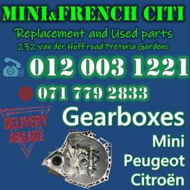 USED GEARBOXES MINI PEUGEOT CITROËN