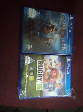 PS4 God of war+Rubgy 159